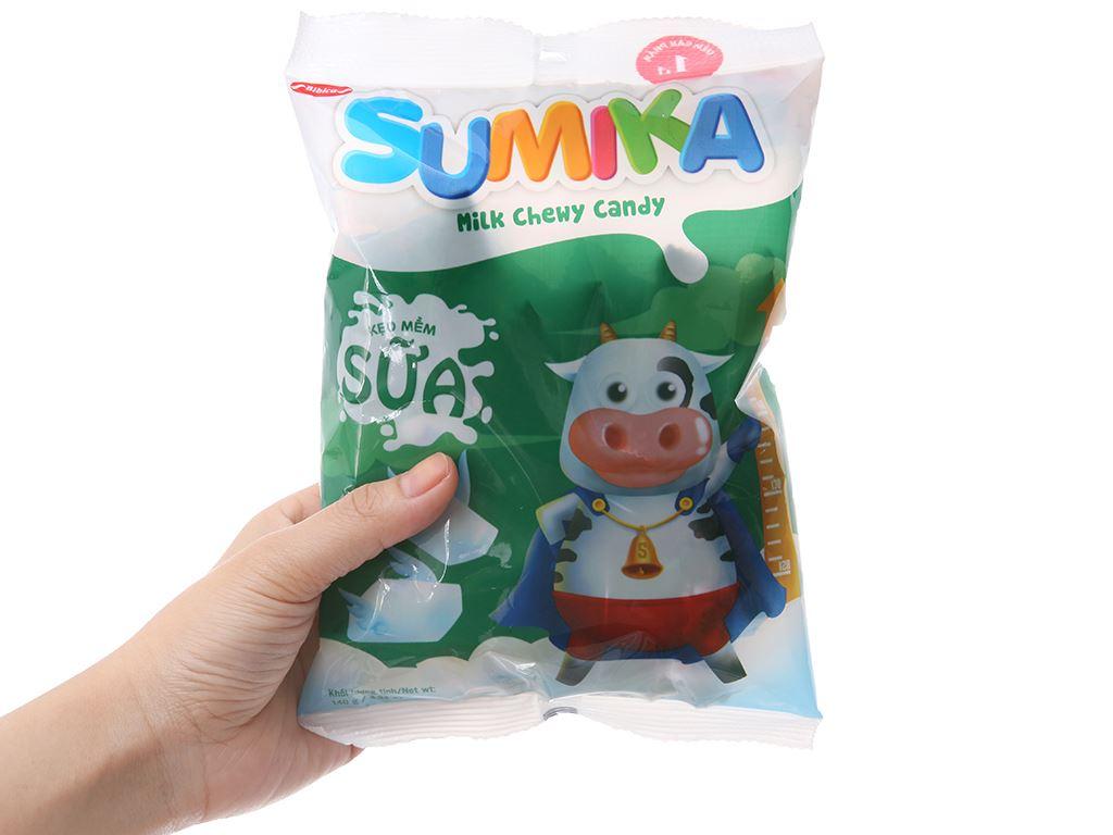 Kẹo mềm sữa Sumika gói 140g 3