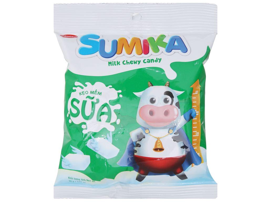 Kẹo mềm sữa Sumika gói 70g 1