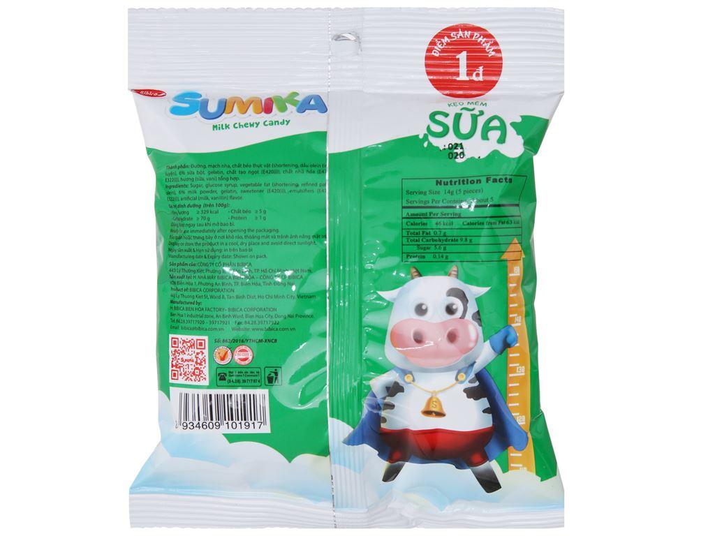 Kẹo mềm sữa Sumika gói 70g 2