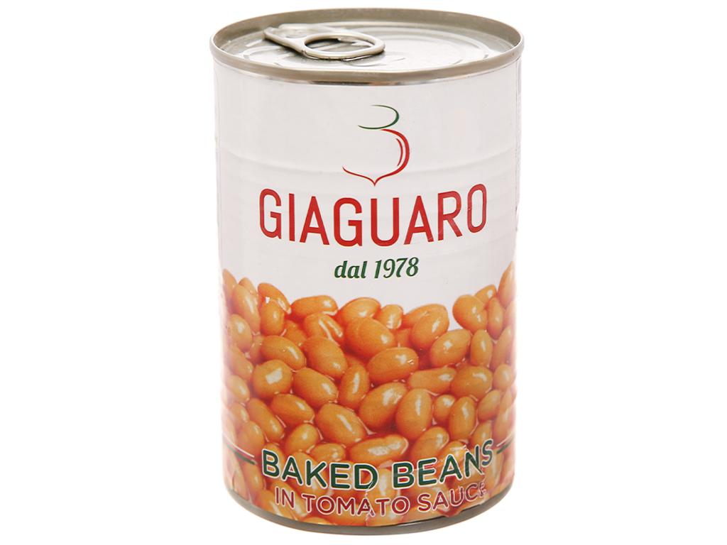 Đậu sốt cà chua Giaguaro hộp 400g 1