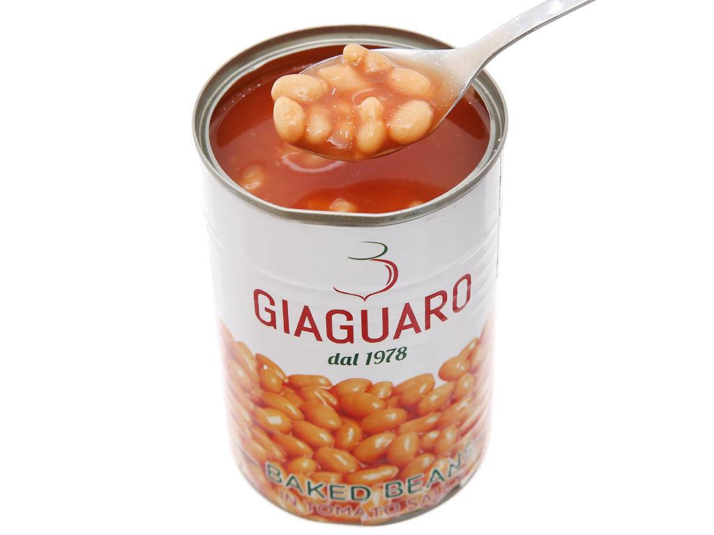 Đậu sốt cà chua Giaguaro hộp 400g 4