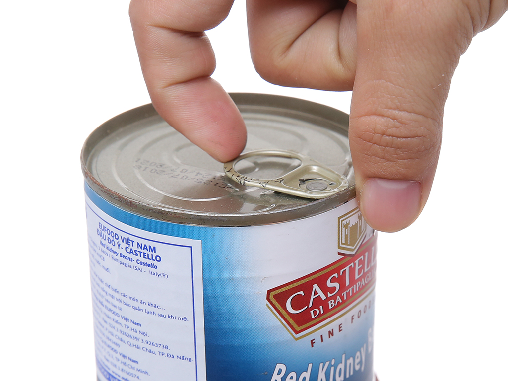 Đậu đỏ Castello hộp 400g 3