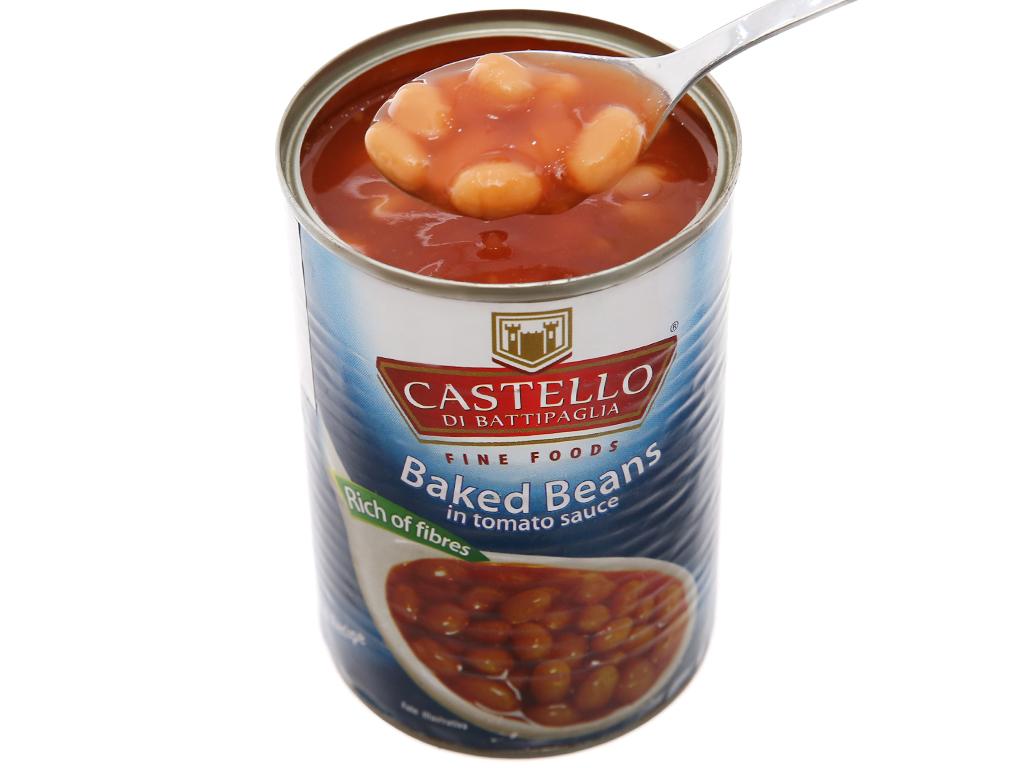 Đậu sốt cà Castello hộp 400g 4