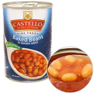 Đậu sốt cà Castello hộp 400g