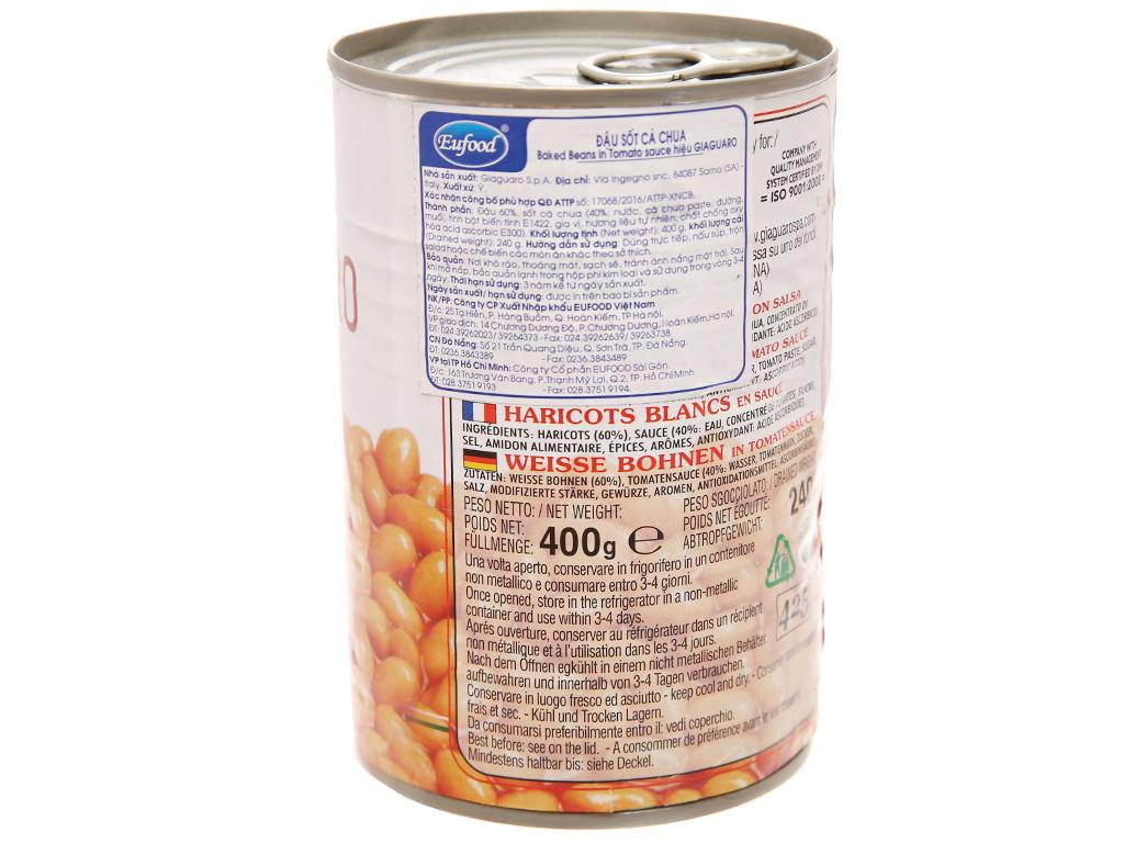 Đậu sốt cà Giaguaro hộp 400g 2