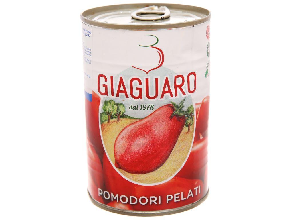 Cà chua lột vỏ Giaguaro hộp 400g 1