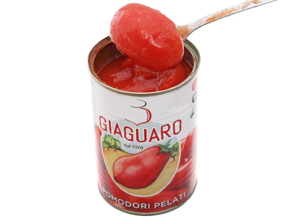 Cà chua lột vỏ Giaguaro hộp 400g 4