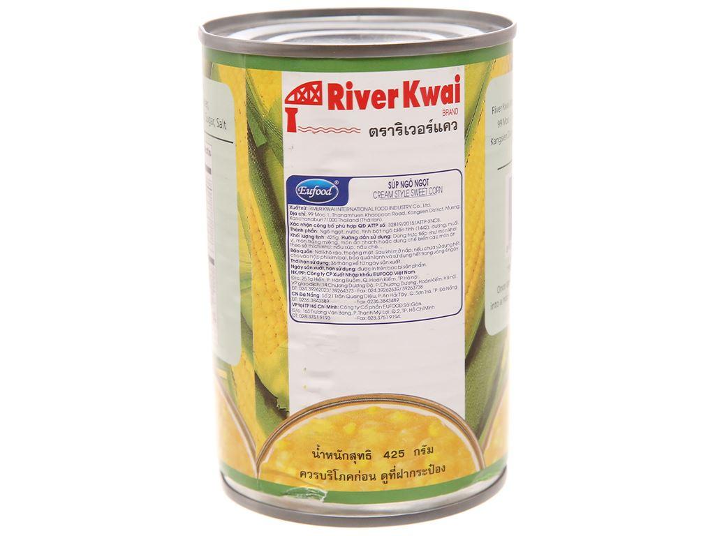 Súp bắp ngọt River Kwai hộp 425g 2