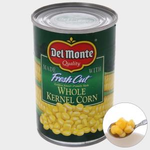 Bắp ngọt nguyên hạt Del Monte hộp 420g