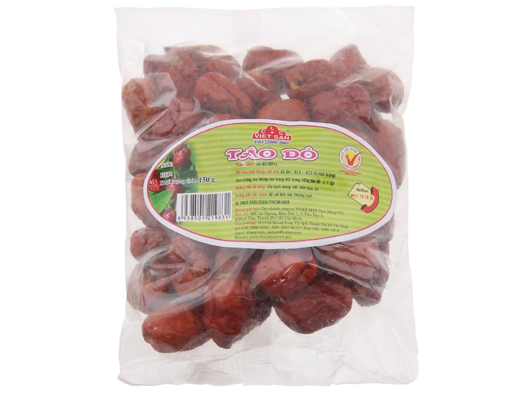 Táo đỏ Việt San gói 150g 1