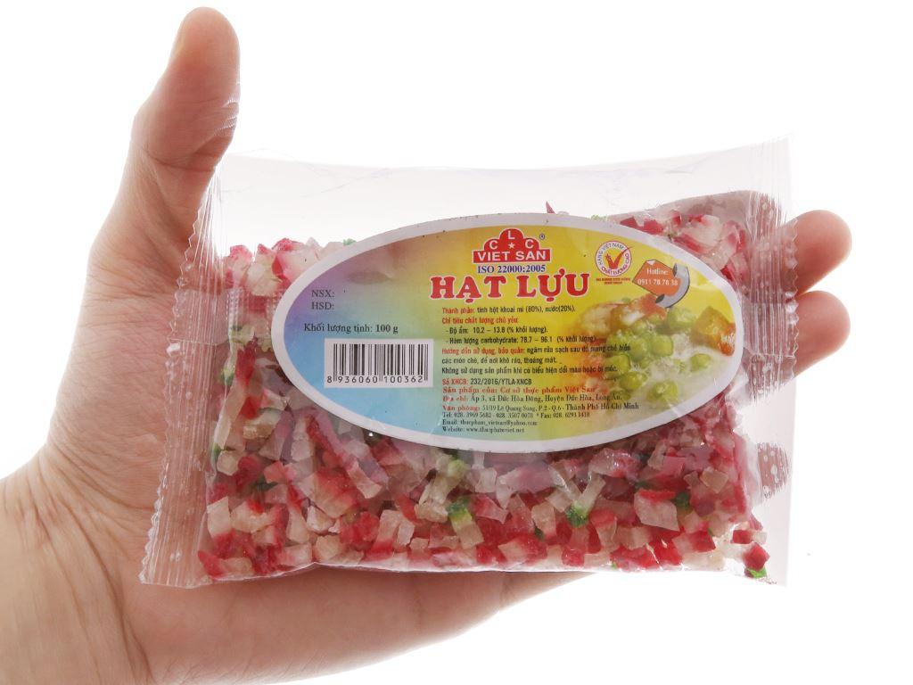 Hạt lựu Việt San gói 100g 3