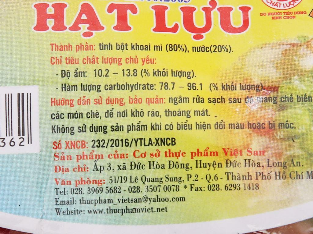 Hạt lựu Việt San gói 100g 5