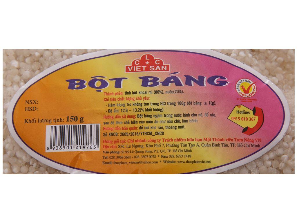 Bột báng Việt San gói 150g 4