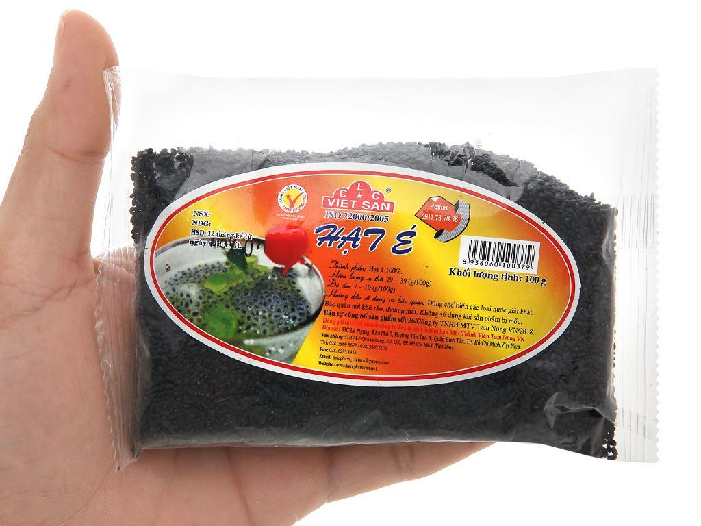 Hạt é Việt San gói 100g 3