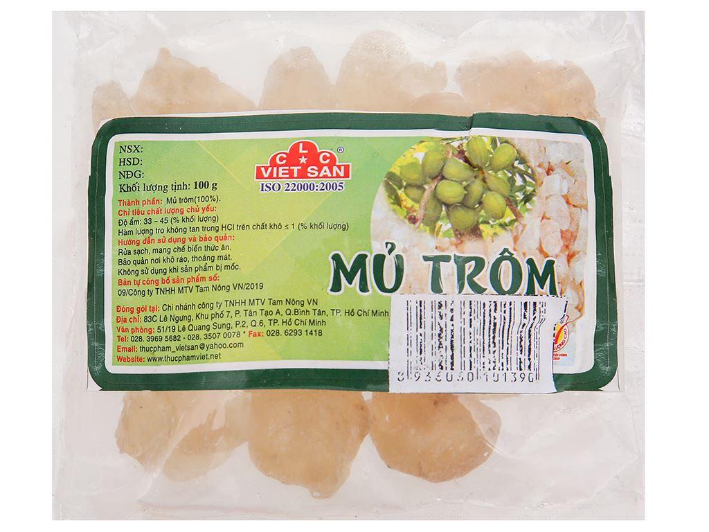 Mủ trôm Việt San gói 100g 1