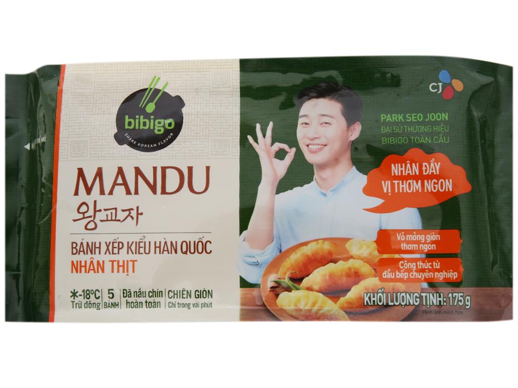 Bánh xếp Hàn Quốc nhân thịt Bibigo gói 175g 1