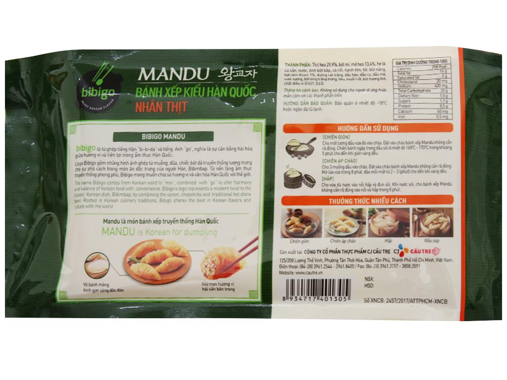 Bánh xếp Hàn Quốc nhân thịt Bibigo gói 175g 2