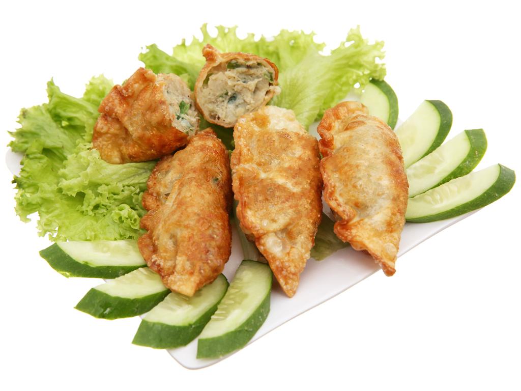 Bánh xếp Hàn Quốc nhân thịt Bibigo gói 175g 4