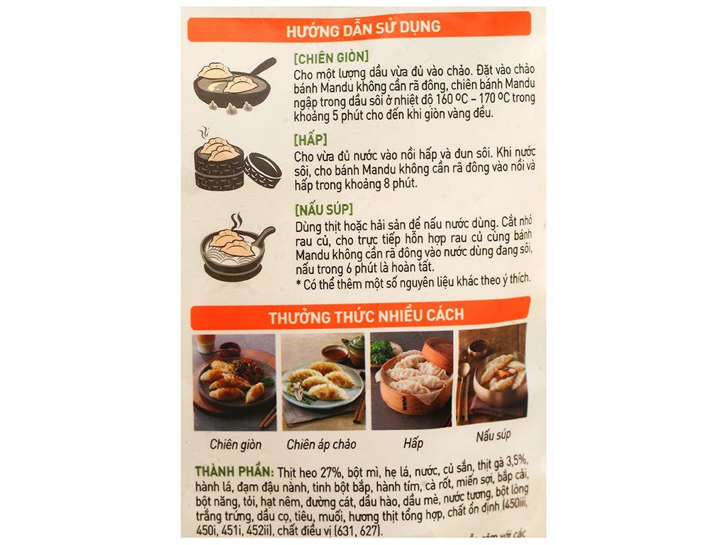 Bánh xếp Hàn Quốc nhân thịt Bibigo gói 175g 7