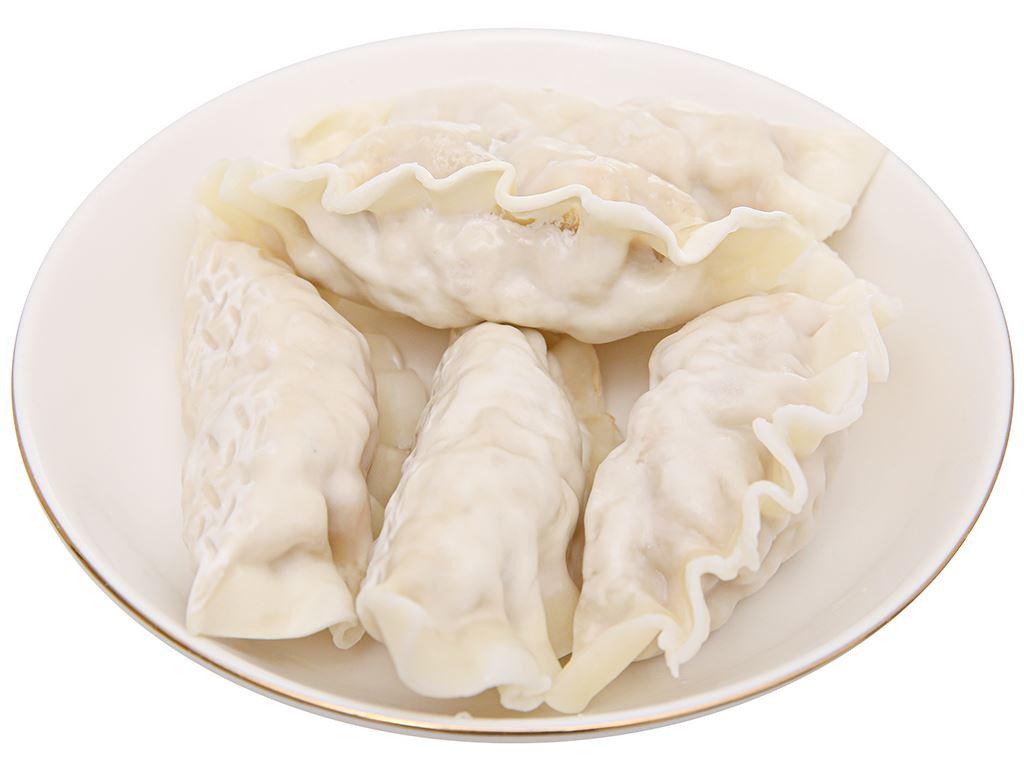 Bánh xếp Hàn Quốc nhân thịt Bibigo gói 175g 9