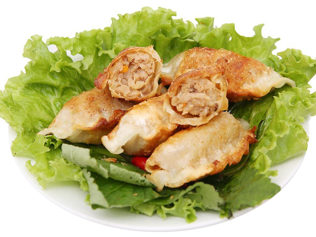 Bánh xếp Hàn Quốc nhân hải sản Bibigo gói 175g 6