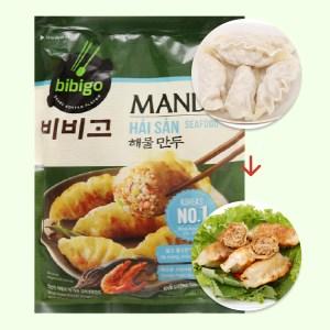 Bánh xếp Hàn Quốc nhân hải sản Bibigo gói 175g