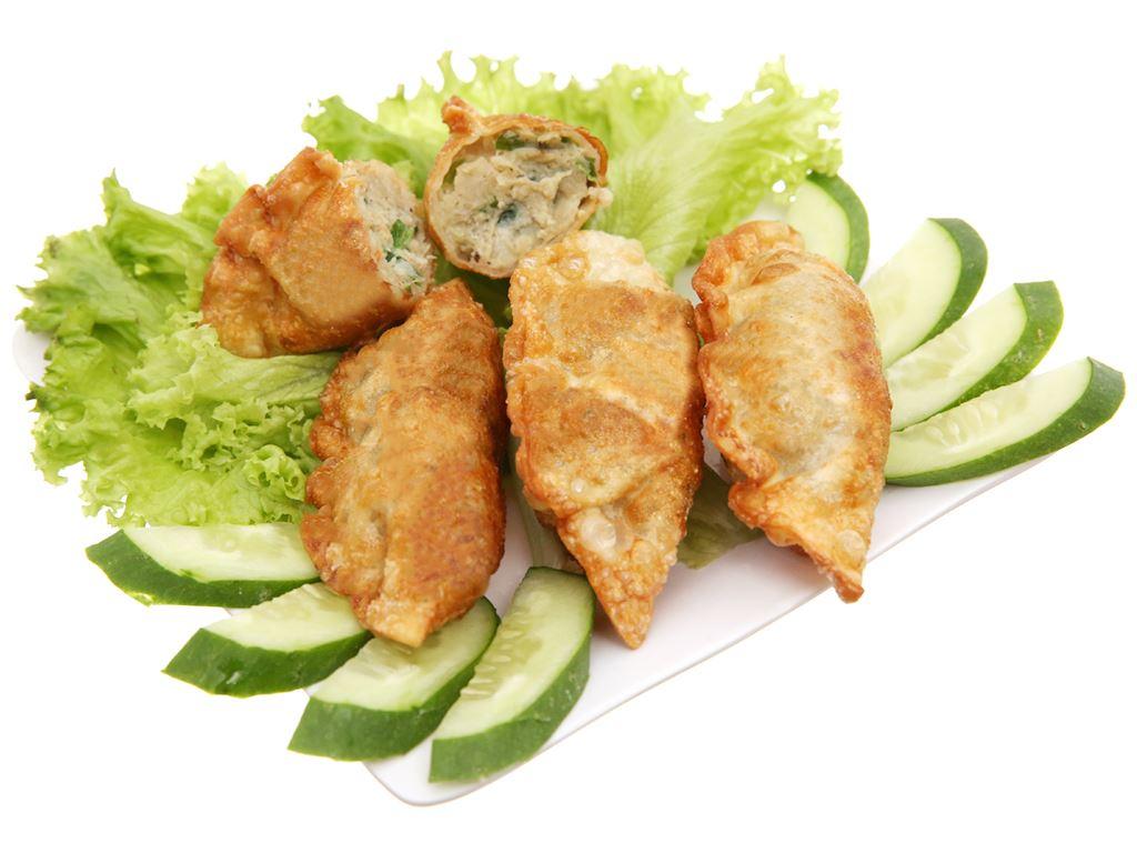 Bánh xếp Hàn Quốc nhân thịt Bibigo gói 350g 4