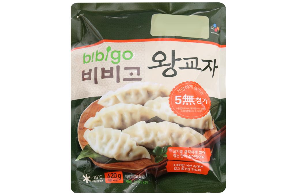 Bánh xếp mỏng nhân thịt Bibigo 420g 1