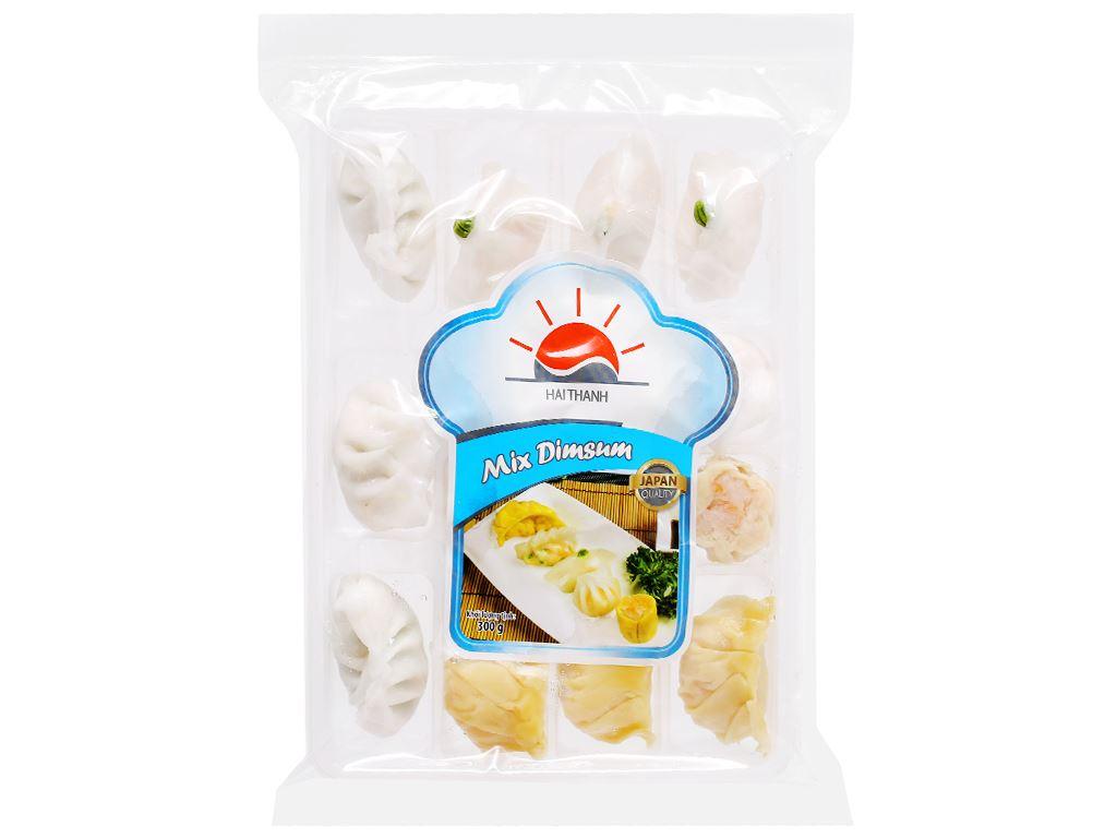 Há cảo thập cẩm 5 món Mix Dimsum Hai Thanh khay 300g 2