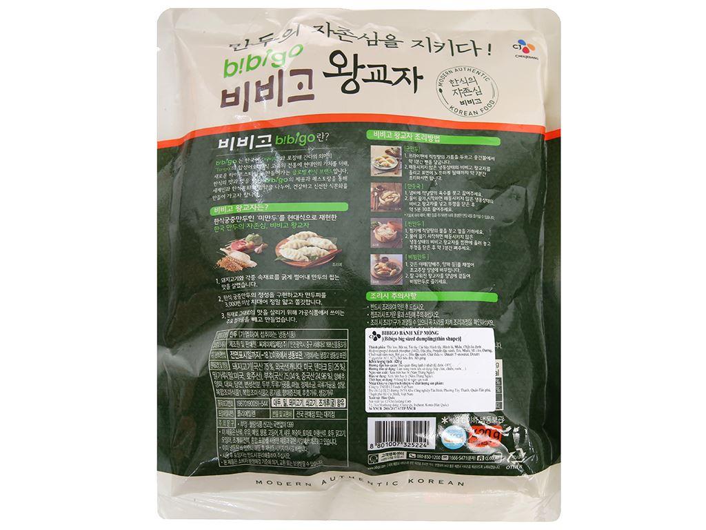 Bánh xếp mỏng nhân thịt Bibigo gói 420g 2