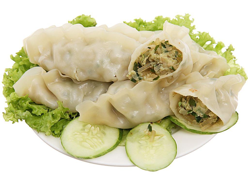 Bánh xếp mỏng nhân thịt Bibigo gói 420g 4