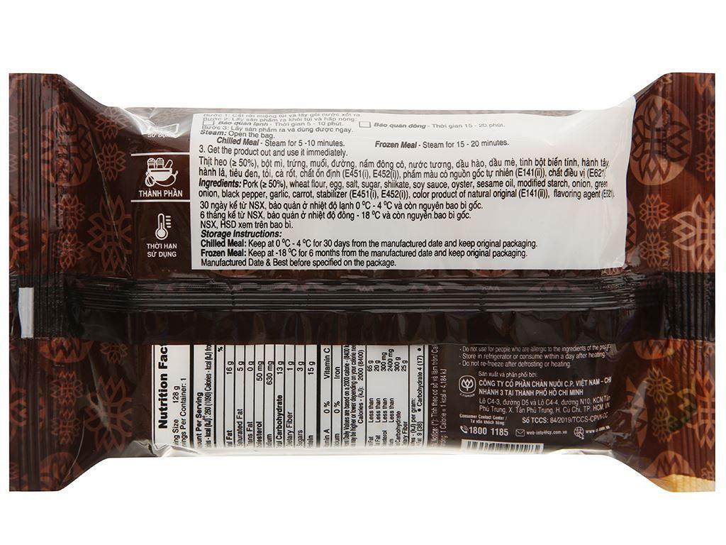 Xíu mại thịt C.P gói 128g 2