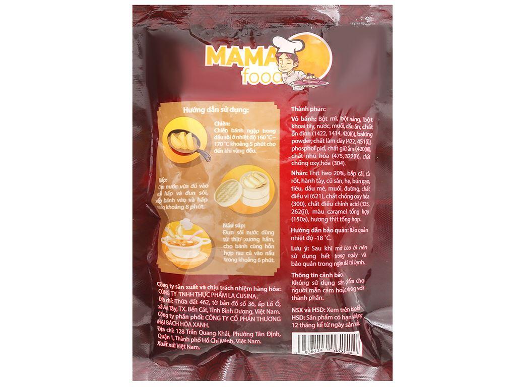 Bánh xếp Hàn Quốc nhân thịt Mama Food 175g 2