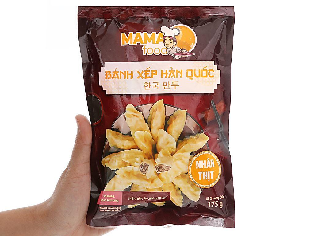 Bánh xếp Hàn Quốc nhân thịt Mama Food 175g 4