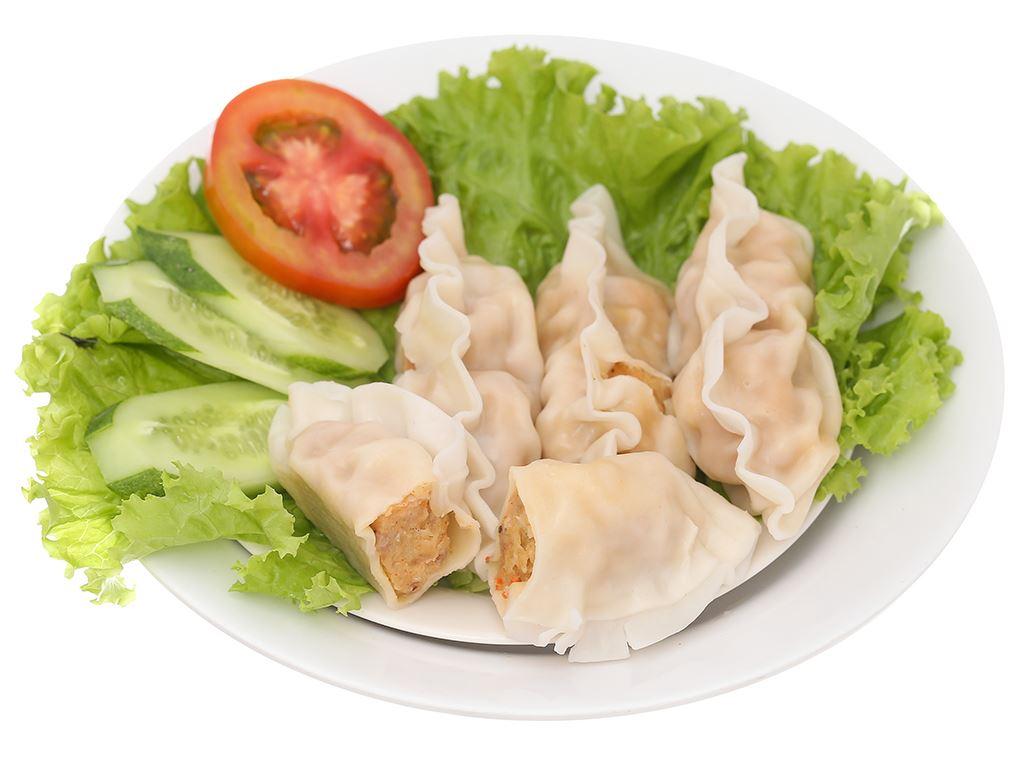 Bánh xếp Hàn Quốc nhân hải sản Mama Food gói 175g 6