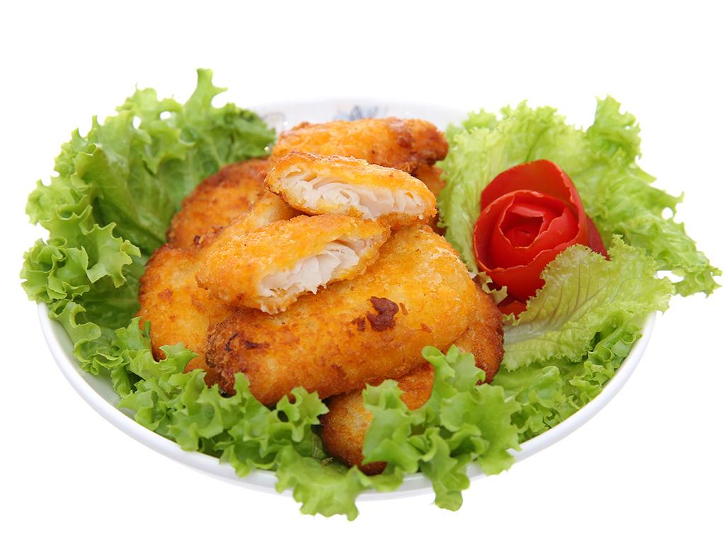 Cá basa tẩm bột xốt tartar Godaco gói 250g 4