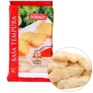 Phi lê cá basa tẩm bột Tempura Godaco gói 500g
