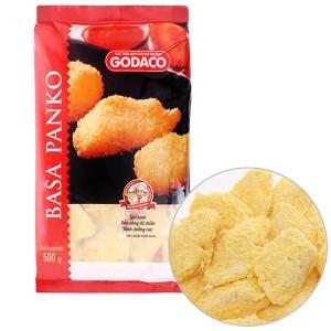 Phi lê cá ba sa tẩm bột chiên xù Panko Godaco gói 500g