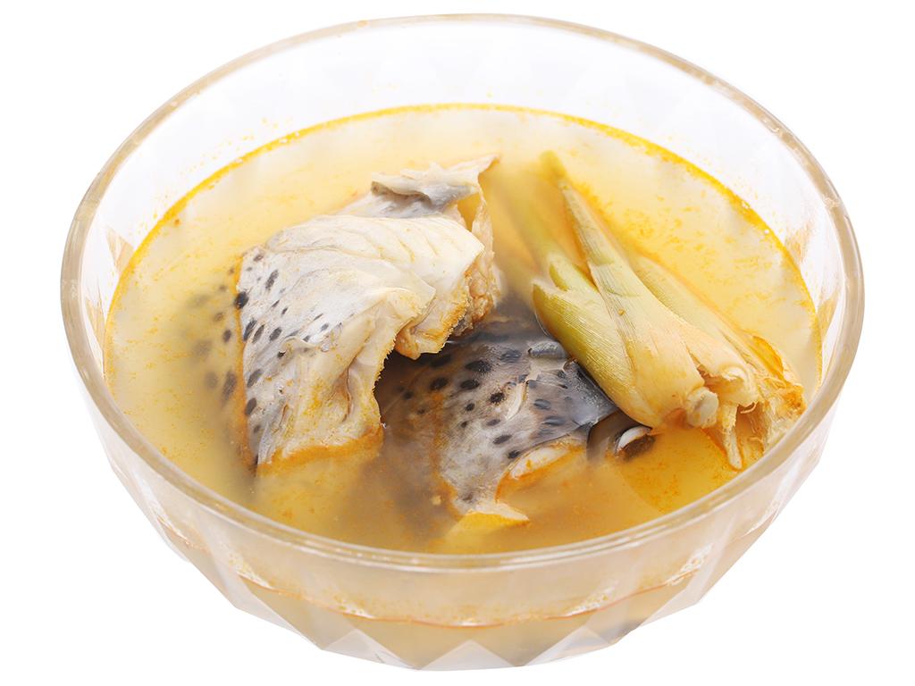 Lẩu đầu cá hồi Phi Long khay 500g 5