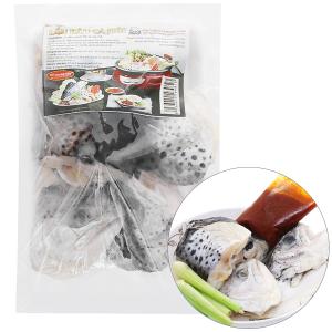 Lẩu đầu cá hồi Phi Long khay 500g