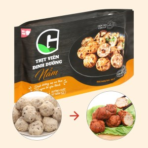 Thịt viên dinh dưỡng nấm G Kitchen gói 300g