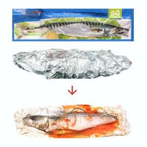 Cá saba tẩm sa tế SG Food 600g