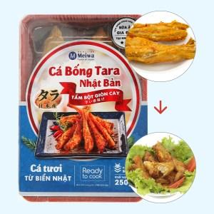 Cá bống Tara tẩm bột giòn cay Meiwa khay 250g
