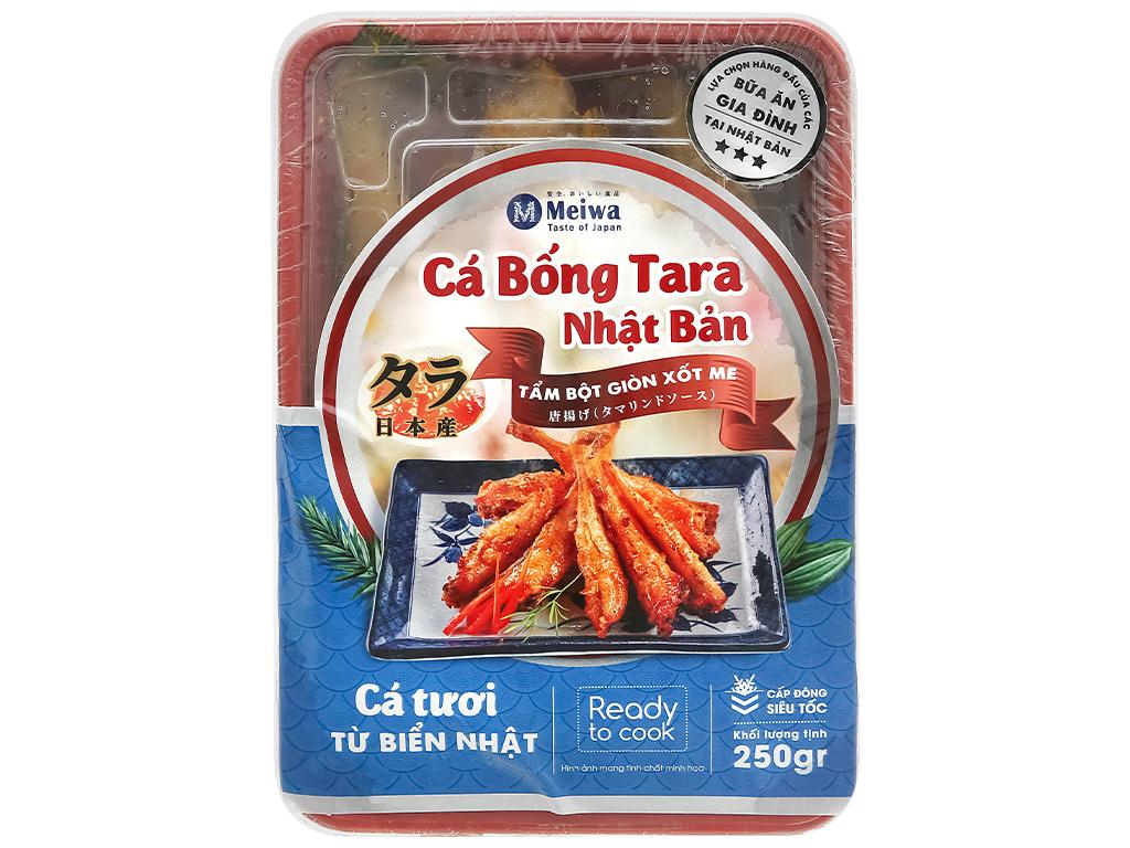 Cá bống Tara tẩm bột giòn xốt me Meiwa khay 250g 1