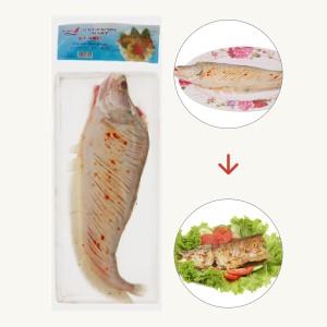 Cá thát lát rút xương tẩm vị sả ớt Kỳ Như gói 250g