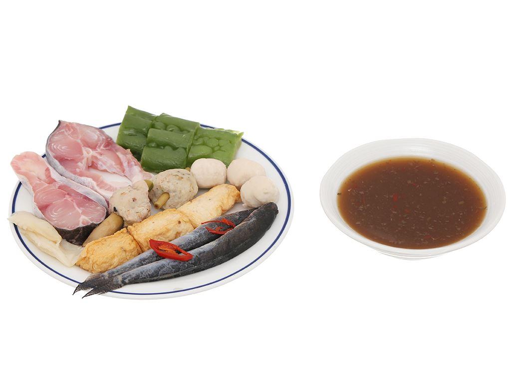 Lẩu mắm miền tây Mama Food 500g 7