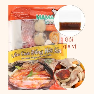Lẩu cua đồng hải sản Mama Food 500g
