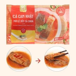 Cá cam Nhật phi lê xốt cà chua SG Food gói 240g