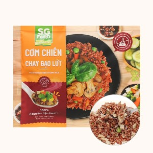 Cơm chiên chay gạo lứt SG Food gói 250g