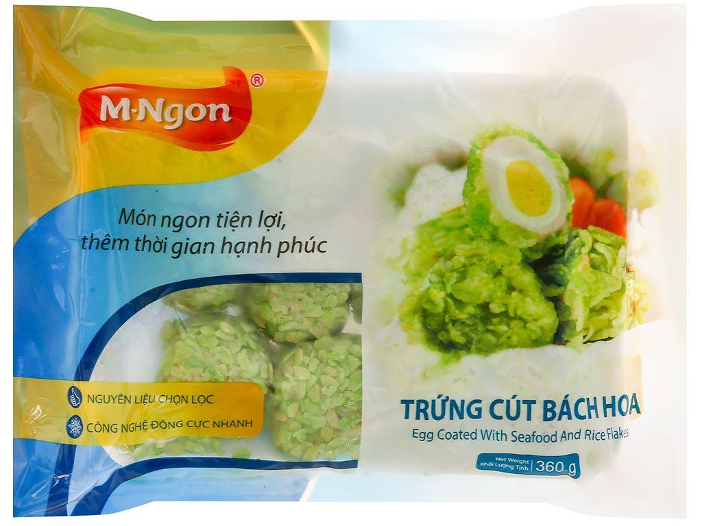 Trứng cút bách hoa M.Ngon gói 360g 1